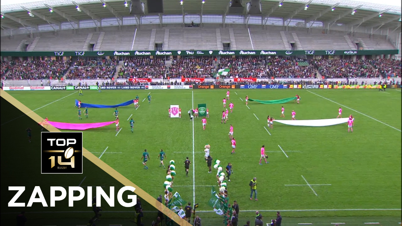 TOP 14 – Le Zapping de la J6 – Saison 2017-2018