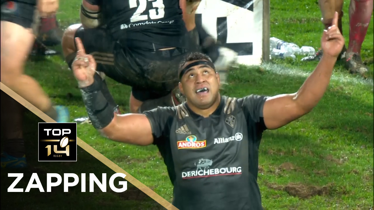 TOP 14 – Le Zapping de la J15 – Saison 2017-2018