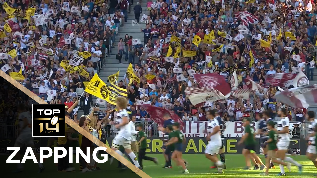 TOP 14 – Le Zapping de la J06– Saison 2018-2019