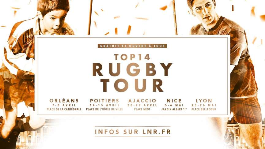TOP 14 RUGBY TOUR 2018