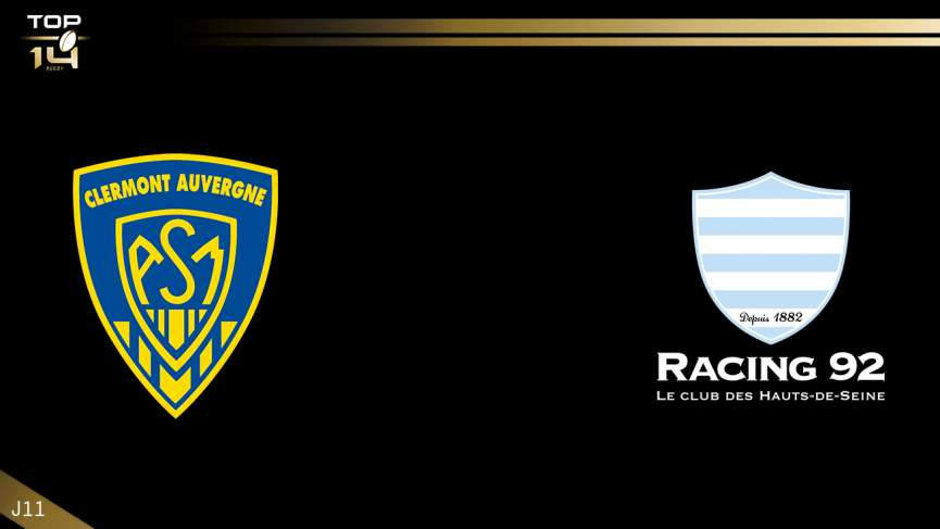 top 14  j11 - clermont